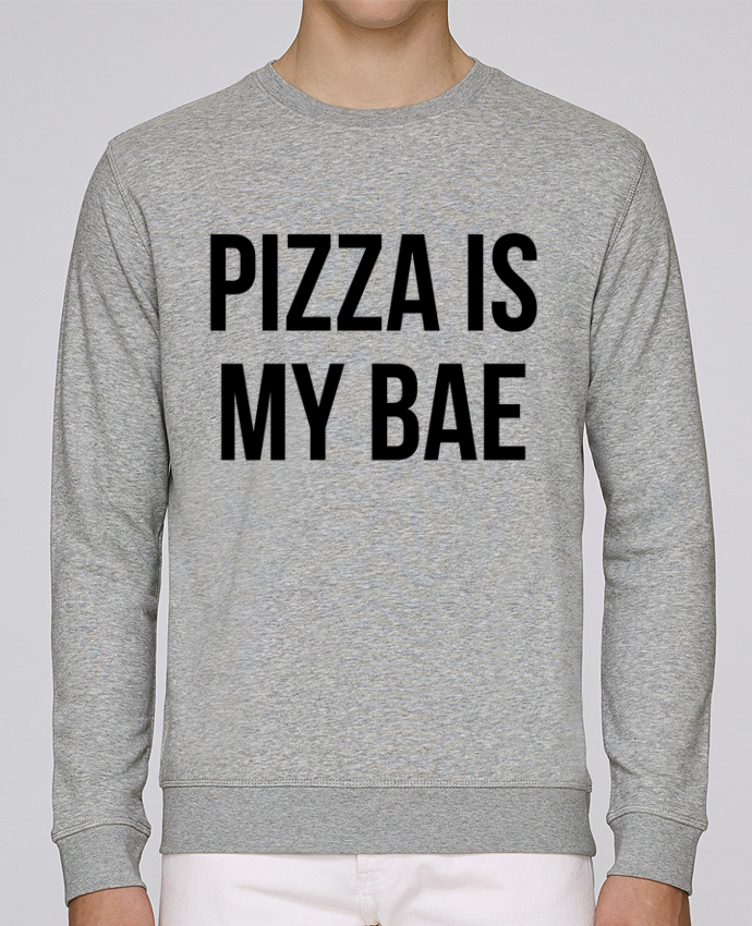 Unisex Sweatshirt Crewneck Medium Fit Rise Pizza is my BAE by Bichette