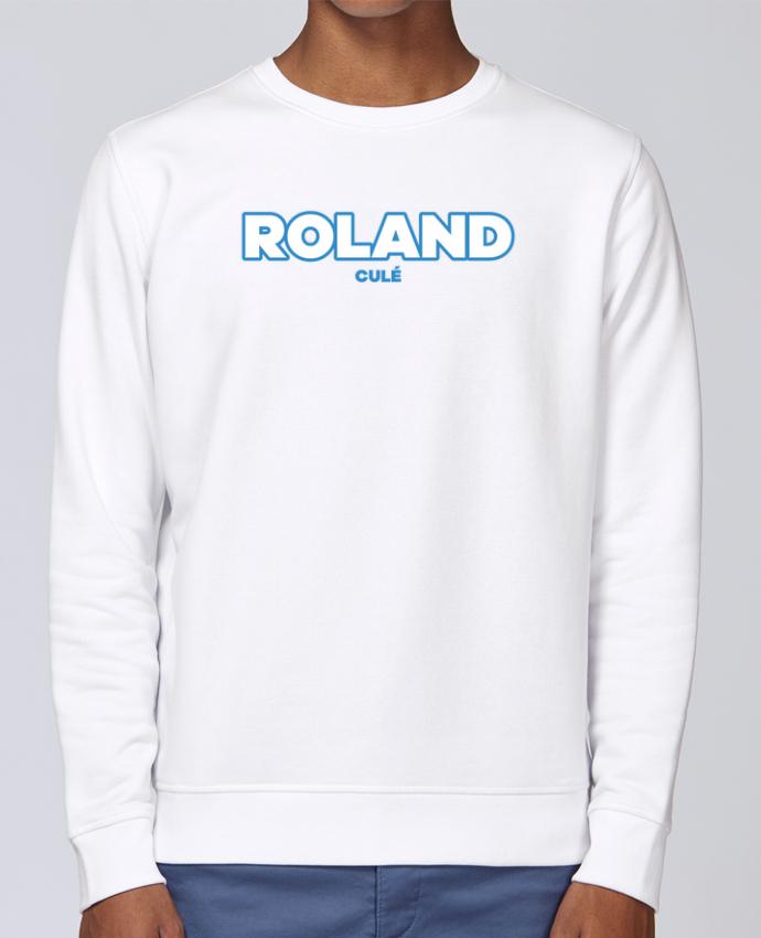 Unisex Sweatshirt Crewneck Medium Fit Rise Roland culé by tunetoo