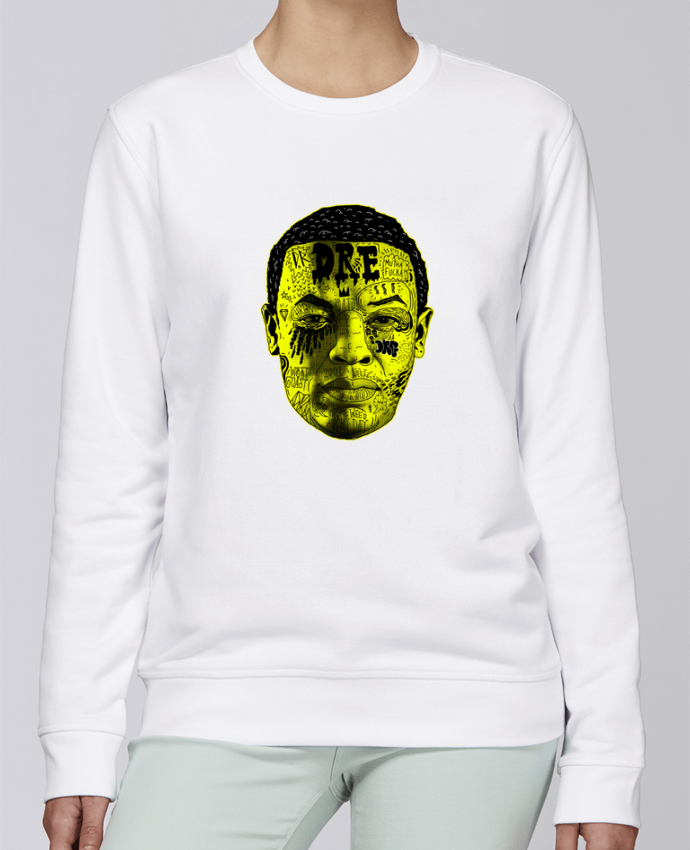 Unisex Sweatshirt Crewneck Medium Fit Rise Dr. Dre by Nick cocozza