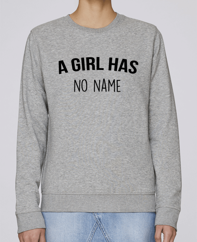 Sweatshirt Crewneck Medium Fit Rise A girl has no name by Bichette