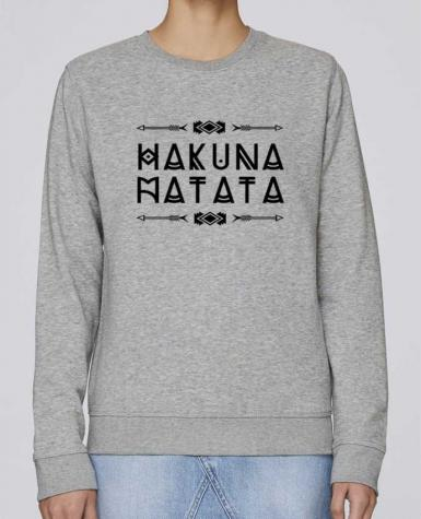 5566892-sweat-basique-femme -heather-grey-hakuna-matata-by-designme.png width 350 height 475 1be89c8a08b