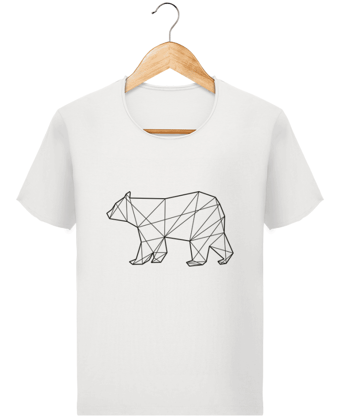 T-shirt Men Stanley Imagines Vintage Polygonal Bear by AB