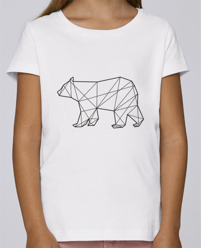 T-shirt Women Stella Draws Polygonal Bear by AB
