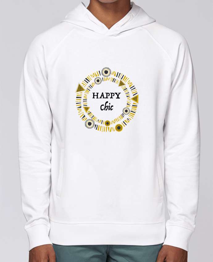 Hoodie Raglan sleeve welt pocket Happy Chic by LF Design