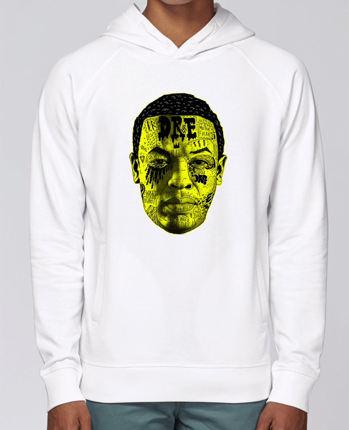 Hoodie Raglan sleeve welt pocket Dr. Dre by Nick cocozza
