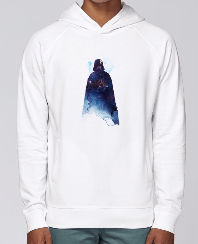 Hoodie Raglan sleeve welt pocket Lord of the universe by robertfarkas