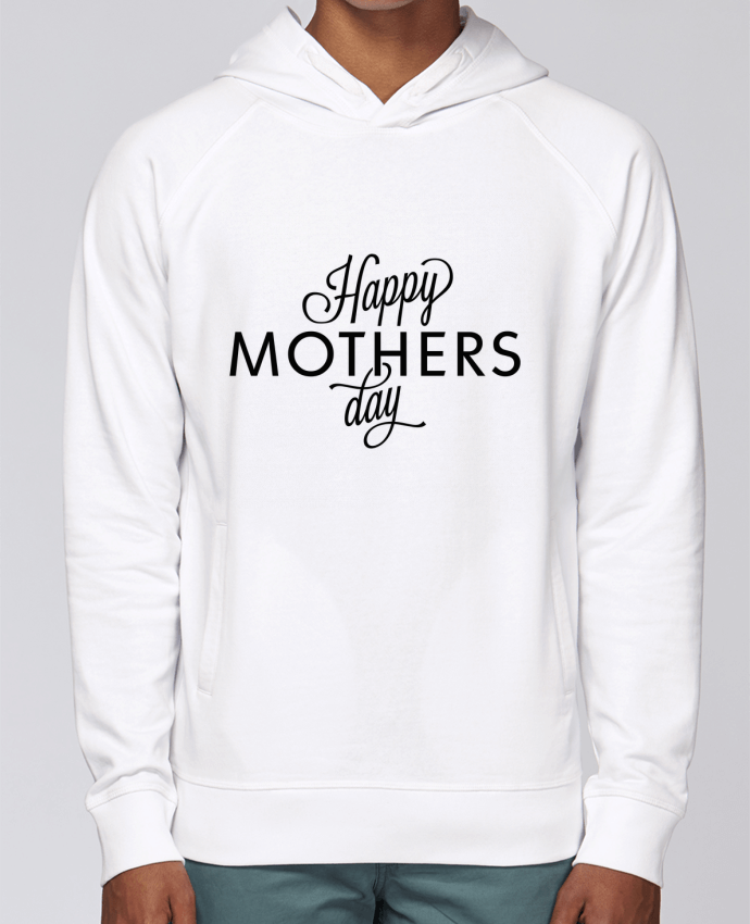 Hoodie Raglan sleeve welt pocket Happy Mothers day by tunetoo