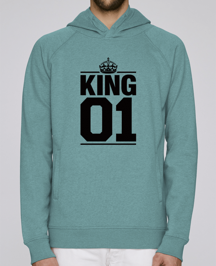 Hoodie Raglan sleeve welt pocket King 01 by Freeyourshirt.com