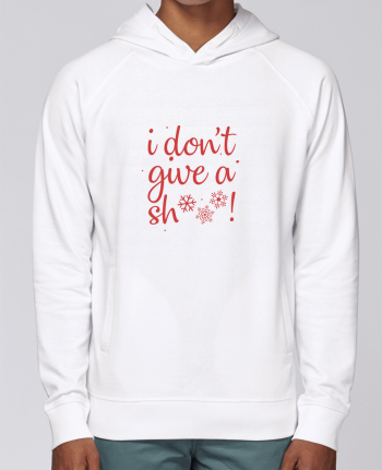 Hoodie Raglan sleeve welt pocket I don\'t give a sh*** ! by Nana