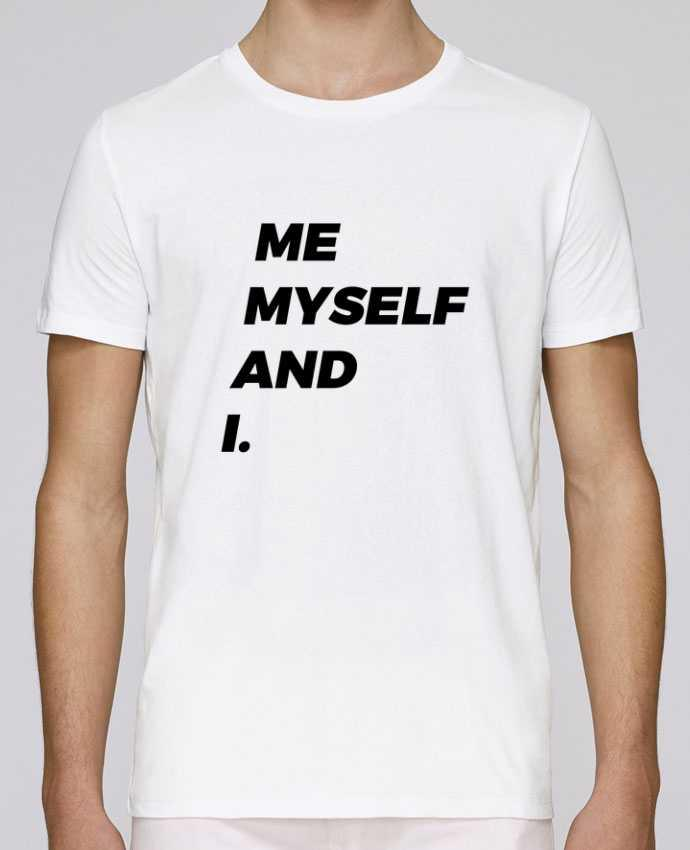 T-shirt crew neck Stanley leads me myself and i. by tunetoo