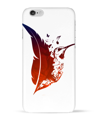 Case 3D iPhone 6 plume colibri by Studiolupi