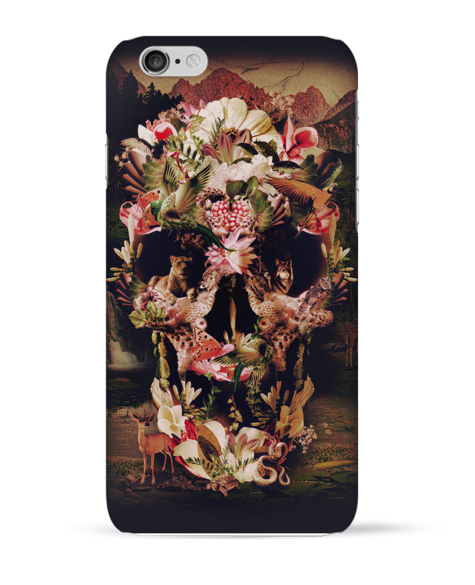 Case 3D iPhone 6 Jungle Skull by ali_gulec