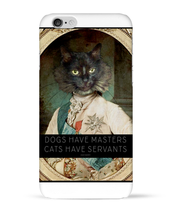Case 3D iPhone 6 King Cat by Tchernobayle