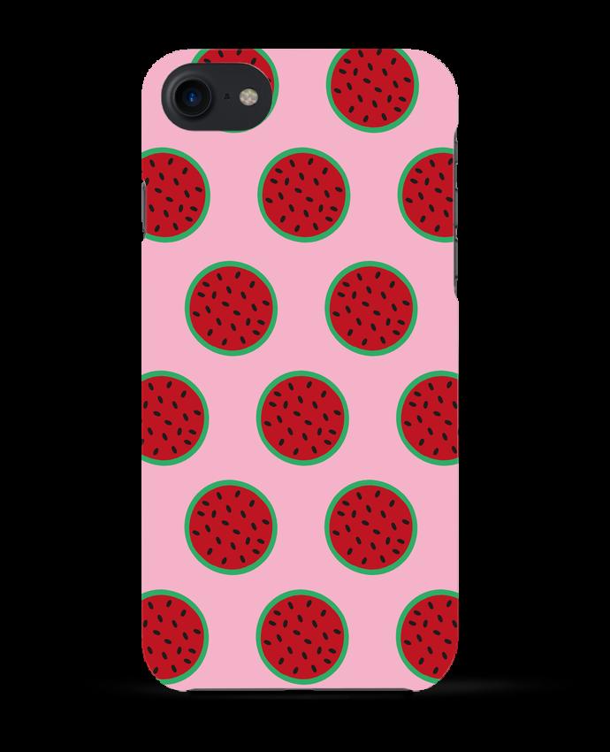Case 3D iPhone 7 Pastèque de tunetoo
