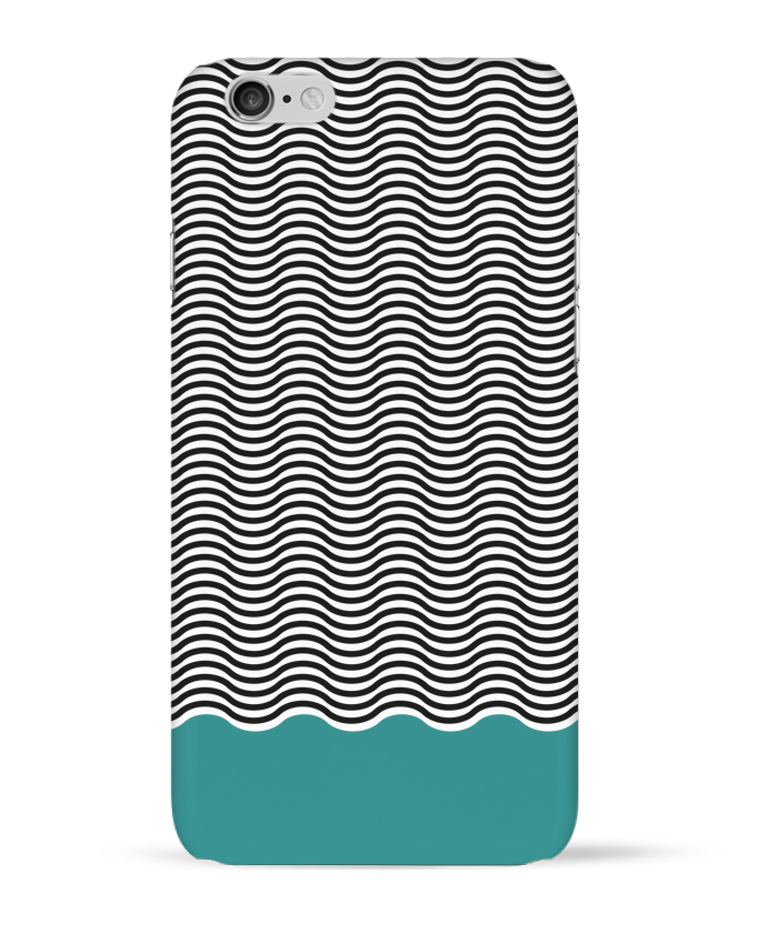 Case 3D iPhone 6 Vagues by tunetoo