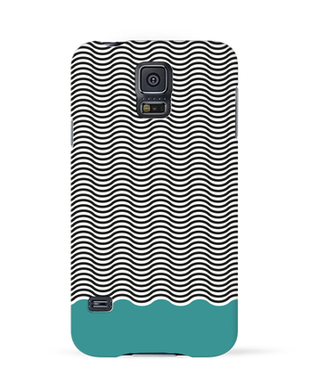 Case 3D Samsung Galaxy S5 Vagues by tunetoo
