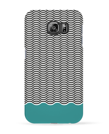 Case 3D Samsung Galaxy S6 Vagues - tunetoo