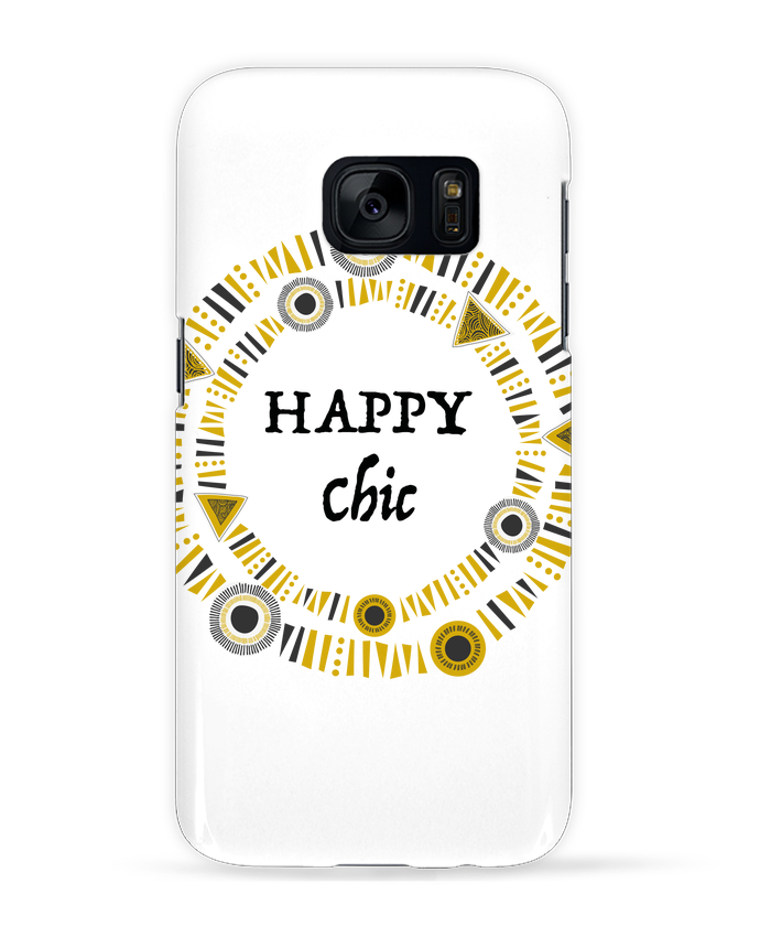 Case 3D Samsung Galaxy S7 Happy Chic by LF Design