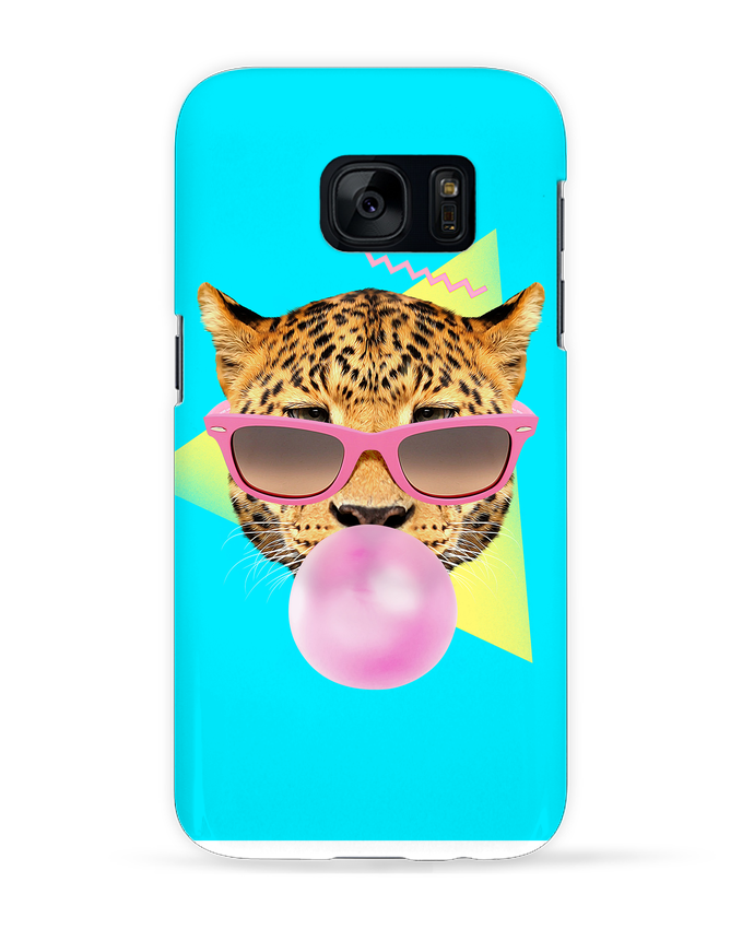 Case 3D Samsung Galaxy S7 Bubble gum leo by robertfarkas