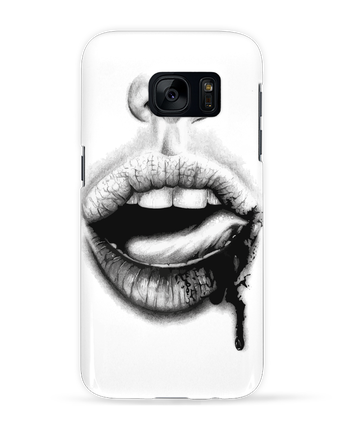 Case 3D Samsung Galaxy S7 BAISER VIOLENT by teeshirt-design.com