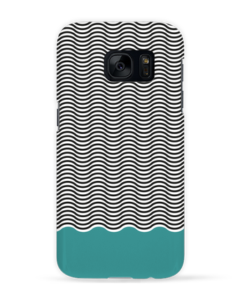 Case 3D Samsung Galaxy S7 Vagues by tunetoo