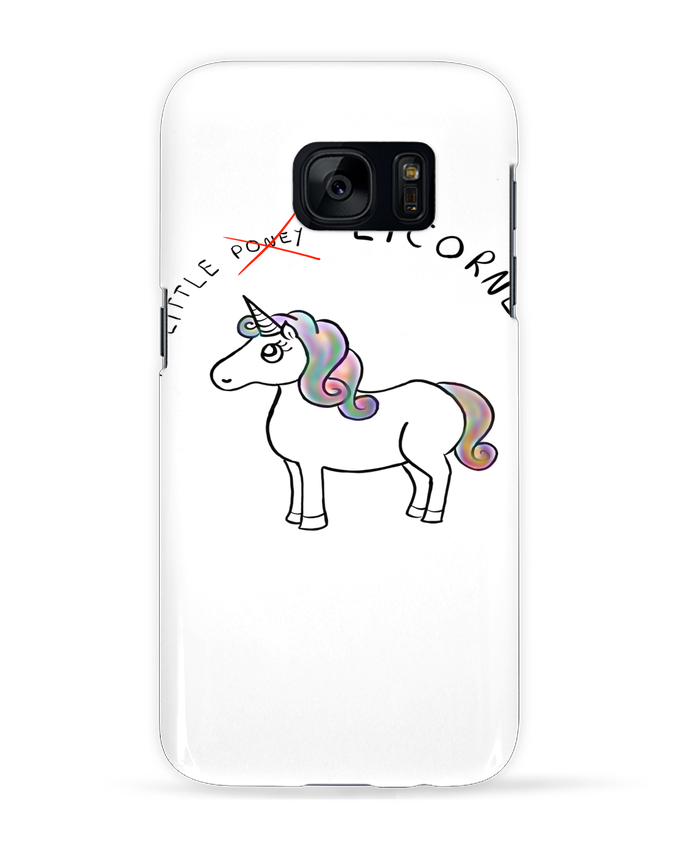 Case 3D Samsung Galaxy S7 Licorne by Sacha