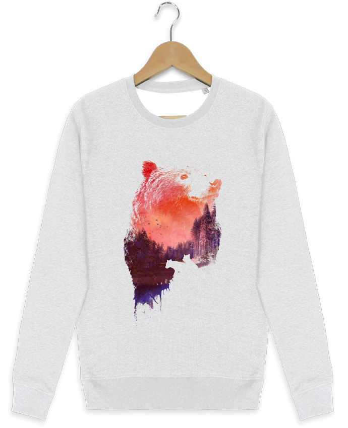 Sweat-shirt Stanley stella modèle seeks Love forever by robertfarkas