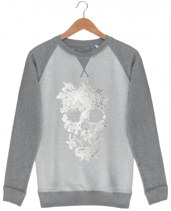 Sweat French Terry Simple Skull by ali_gulec