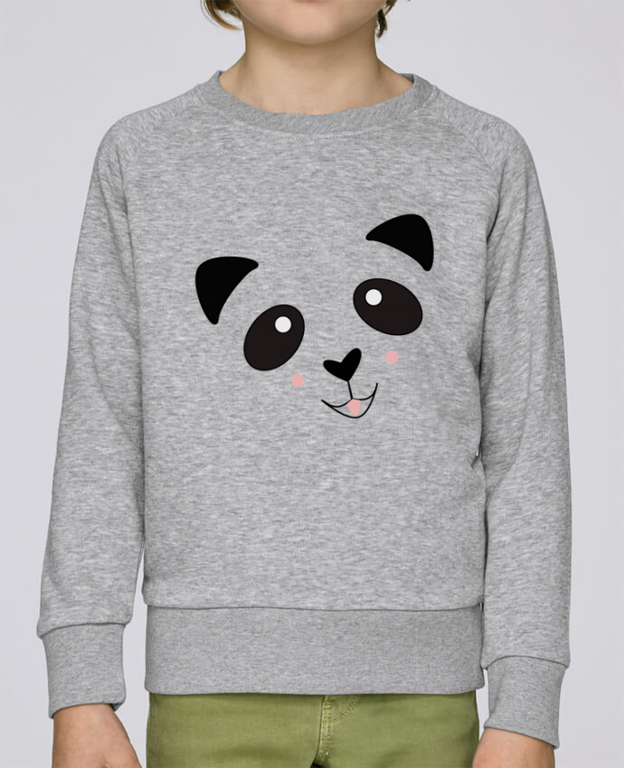 Sweatshirt Kids round neck Stanley Mini Scouts Bébé Panda Mignon by K-créatif