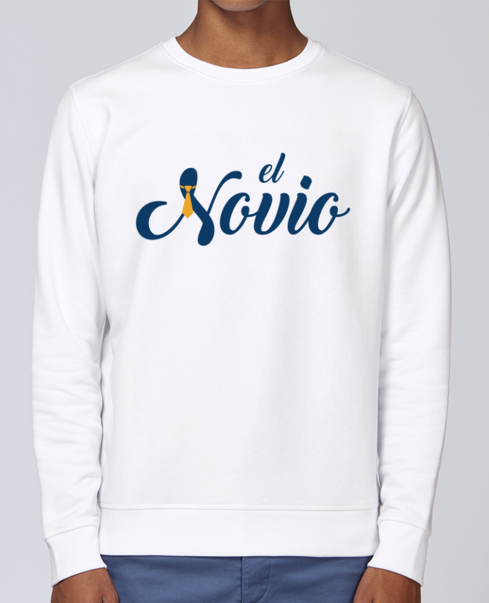 Unisex Sweatshirt Crewneck Medium Fit Rise El Novio by tunetoo