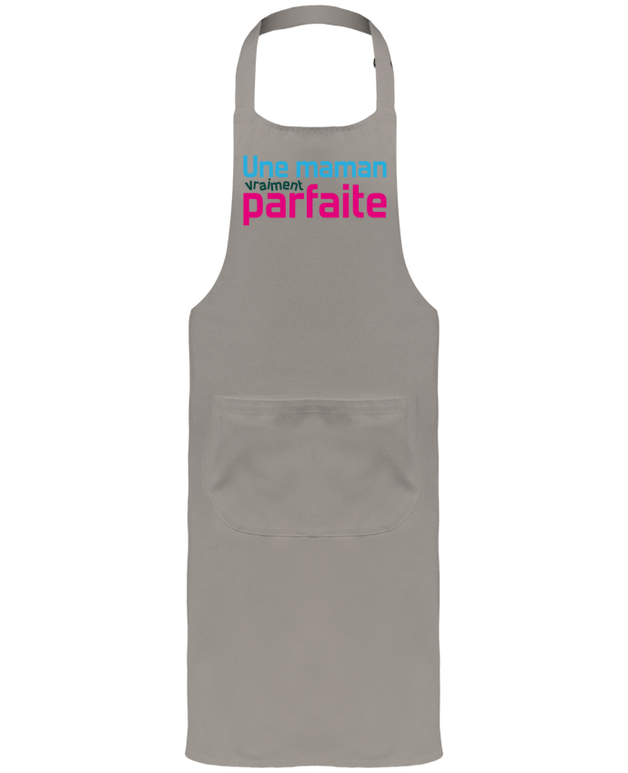 Garden or Sommelier Apron with Pocket Une maman vraiment byfaite by tunetoo