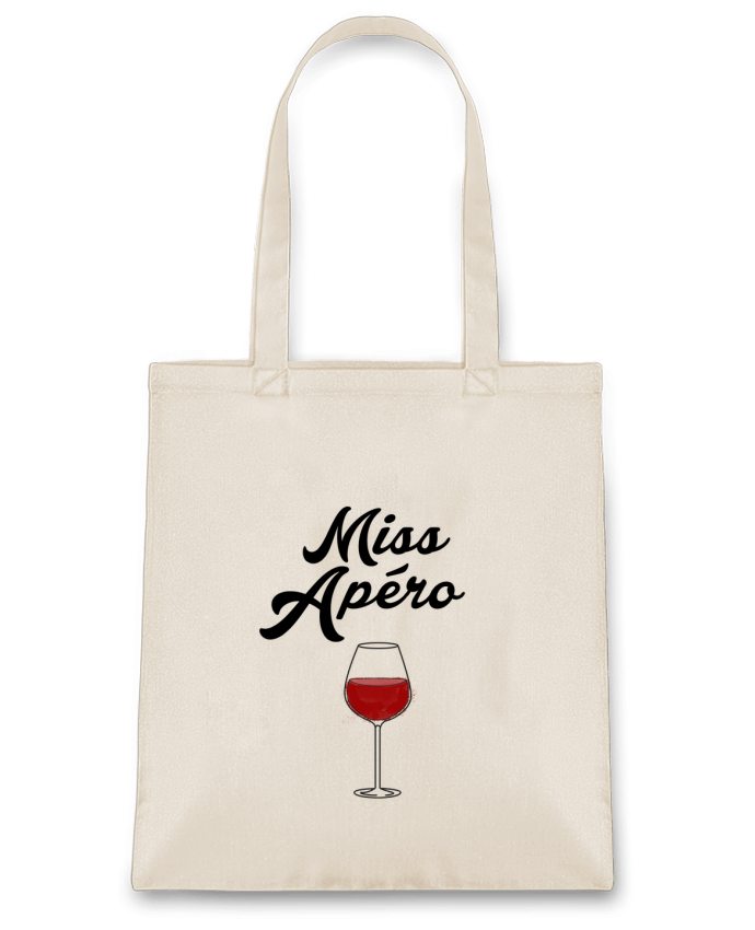Tote Bag cotton Miss Apéro by tunetoo