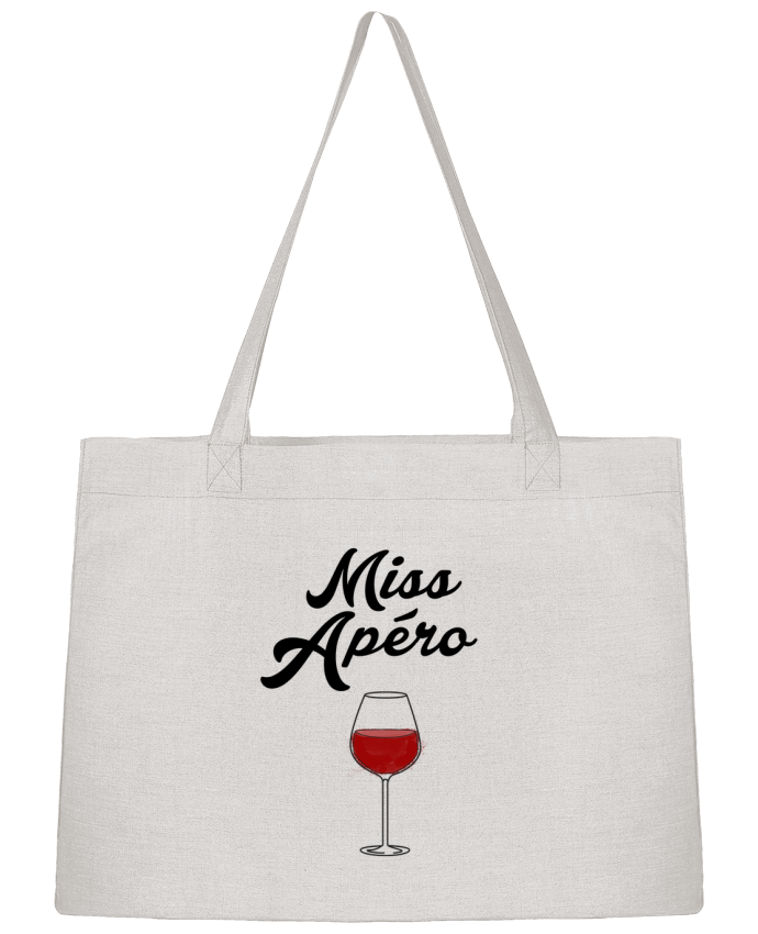 Shopping tote bag Stanley Stella Miss Apéro by tunetoo