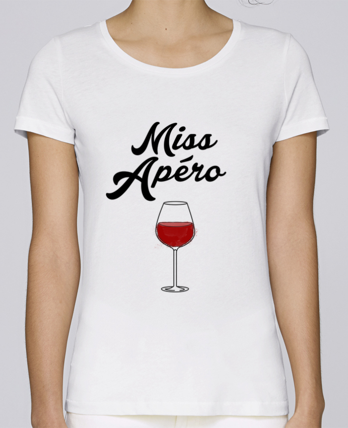 T-shirt Women Stella Loves Miss Apéro by tunetoo