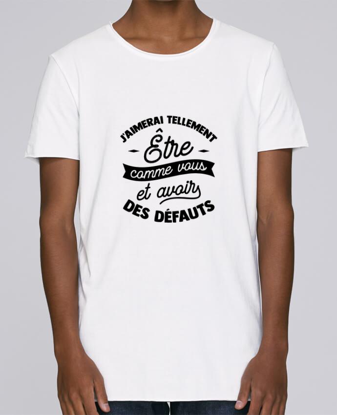 T-shirt Men Oversized Stanley Skates J'aimerai être comme vous cadeau by Original t-shirt