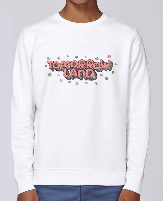 Unisex Sweatshirt Crewneck Medium Fit Rise Tomorrowland by tunetoo