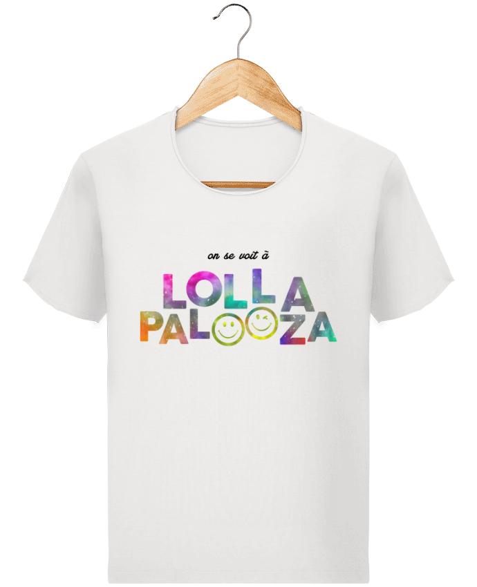 T-shirt Men Stanley Imagines Vintage On se voit à Lollapalooza by tunetoo