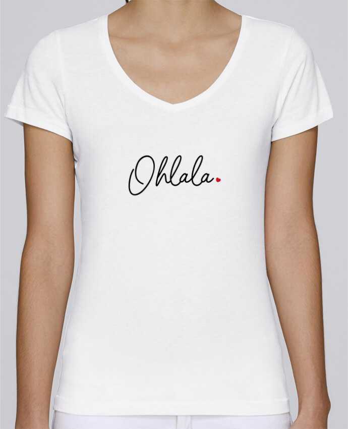 T-Shirt V-Neck Women Stella Chooses Ohlala by Nana