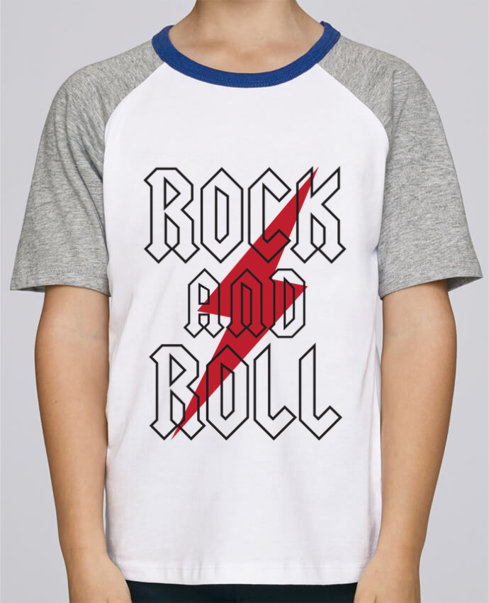 Tee-Shirt Child Short Sleeve Stanley Mini Jump Rock And Roll by Freeyourshirt.com