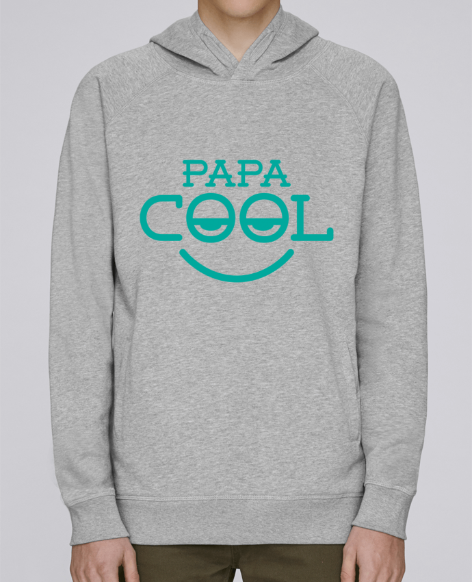 Hoodie Raglan sleeve welt pocket Papa cool by tunetoo
