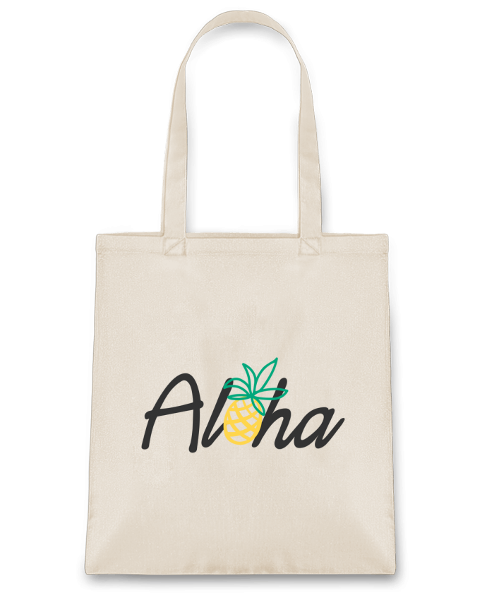Tote Bag cotton Aloha by tunetoo