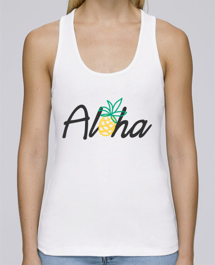 Tank Top Women Stella Dreams Organic Aloha by tunetoo en coton Bio