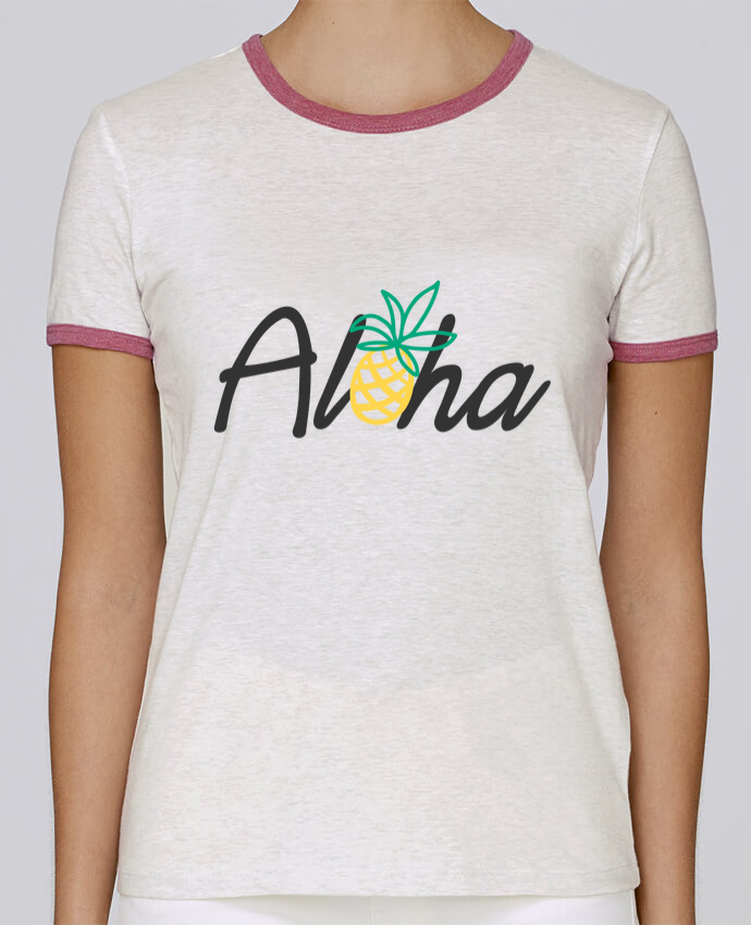 T-shirt Women Stella Returns Aloha pour femme by tunetoo