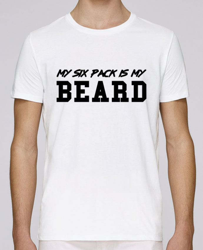 Unisex T-shirt 150 G/M² Leads My six pack is my beard by tunetoo