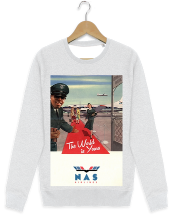 Sweat-shirt Stanley stella modèle seeks Nas Airlines by Ads Libitum