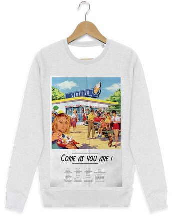 Sweat-shirt Stanley stella modèle seeks Come as you are by Ads Libitum