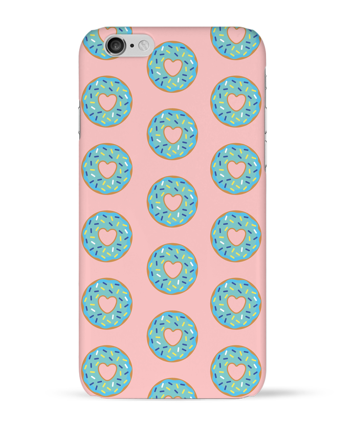 Case 3D iPhone 6 Donut coeur by tunetoo