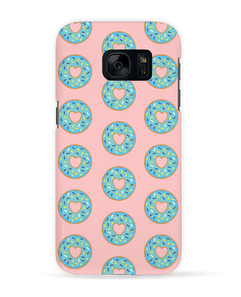 Case 3D Samsung Galaxy S7 Donut coeur by tunetoo