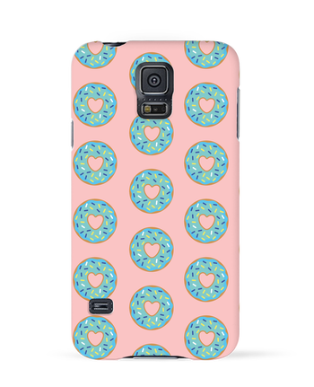 Case 3D Samsung Galaxy S5 Donut coeur by tunetoo