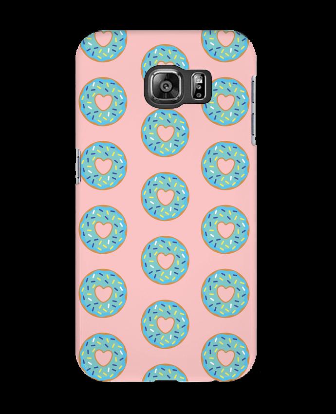 Case 3D Samsung Galaxy S6 Donut coeur - tunetoo